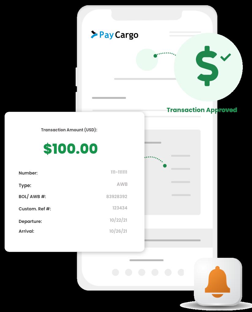 paycargo vendor receive payments